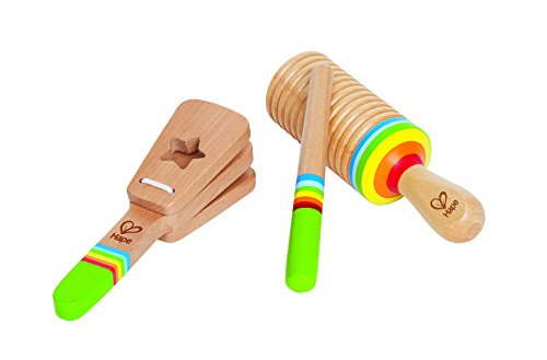 (Hape Rhythm Kid's Wooden Musical Instrument Set)