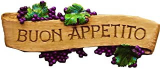 product image for Piazza Pisano Art by Al Pisano Italian Tuscan Kitchen Wall Plaque BUON Appetito