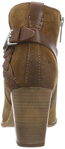 Marc O'Polo Mid Heel Bootie - Botas Mujer Marrón - Braun (cognac 720)