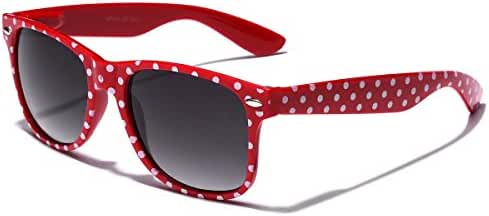 Polka Dot Retro Fashion Sunglasses - 100% UV400