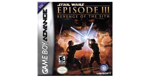Star Wars Revenge Of The Sith Game Boy Advance Computer And Video Games Amazon Ca