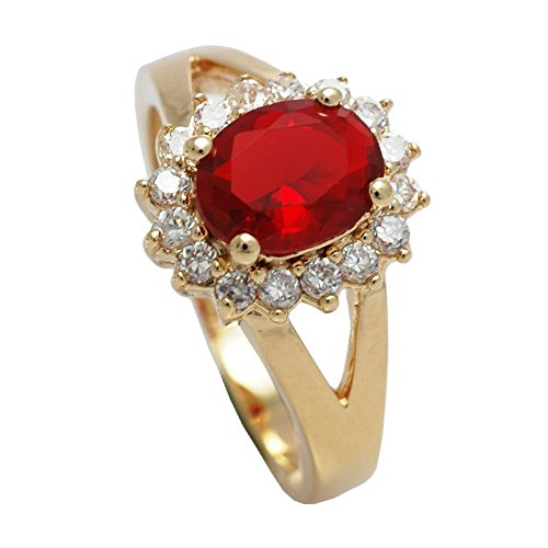 Women's Eye Catching 18kt Genuine Gold Filled, UK Guarantee: 3 µ / 10...