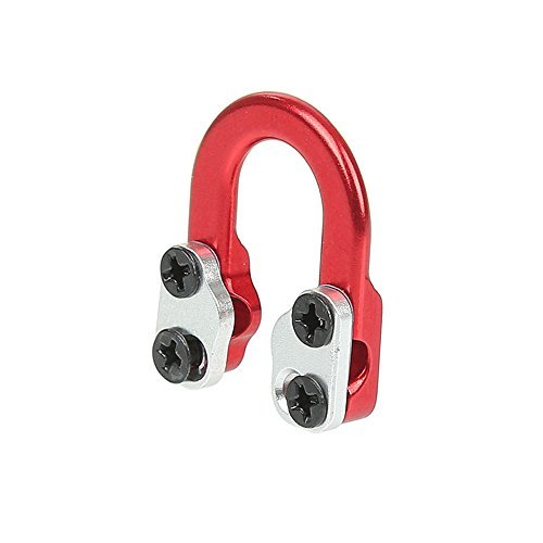 CHINA AMIER ARCHERY Archery D Loop Metal D ring buckle rope Ulimate Hunting D-Loop (RED)