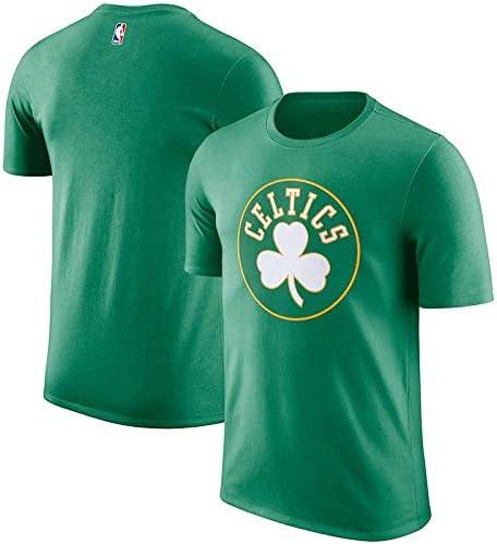 GLJJQMY Manga Corta Camiseta de Baloncesto Estrella Celta Uniforme de algodón Camiseta Deportiva de los Hombres Media Manga Camiseta de Baloncesto (Color : Green, Size : S): Amazon.es: Hogar