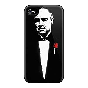 Anti-Scratch Hard Cell-phone Cases For Iphone 6 (ttF6895WBKy) Unique Design Vivid The Godfather Image