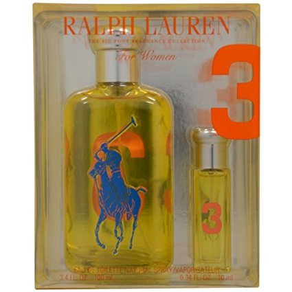 Ralph Lauren The Big Pony Fragrance Collection # 3 for Women, Gift Set ()