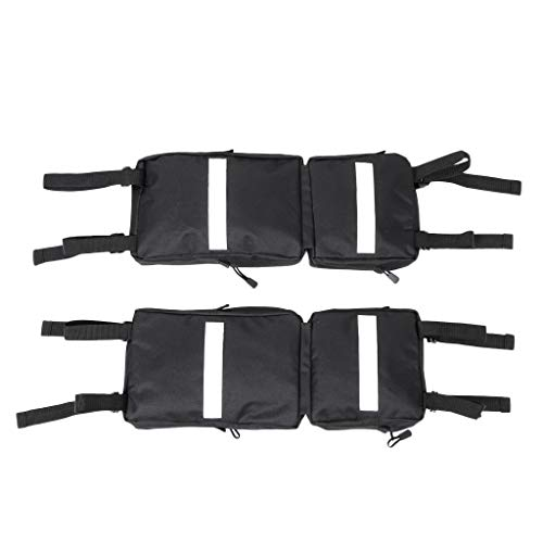 B Blesiya 2pcs ATV Fender Pack Tool Bag ATV Quad Four Wheeler Universal Mounting
