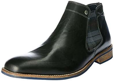 Wild Rhino Men's Drake Boots, Black, 7 AU (41 EU)