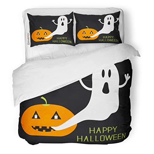 Tarolo Bedding Duvet Cover Set Happy Pumpkin Candles