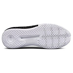 Under Armour Men's UA Drive 4 Low White/Black/White 10 D US