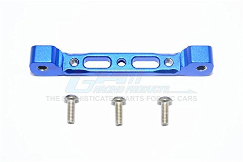 G.P.M. Arrma Kraton 6S BLX (AR106005/106015/106018) Aluminium Rear Arm Bulk For Front Upper Arms - 1Pc Set Blue