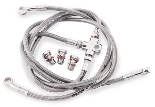 Galfer Brake Line Rear Stainless Steel for Honda TRX 250R 86-89