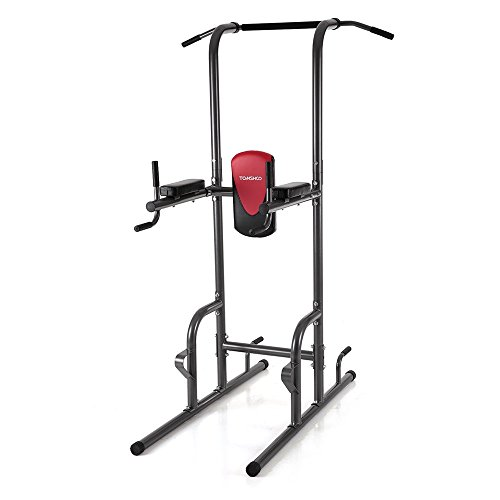 tomshoo fitness power tower with dip station pull up bar. Black Bedroom Furniture Sets. Home Design Ideas