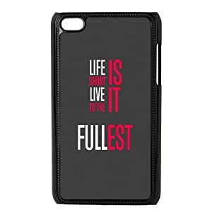iPod Touch 4 Case Black iOS7 color life quote 3 1 Dmnbz