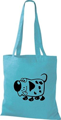 Shirtstown Stoffbeutel Tiere Hund Dog Sky KADlwF