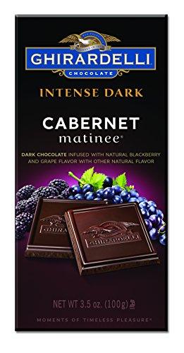 - Ghirardelli Intense Dark Cabernet Matinee Bar, 3.5 oz.  ( Pack Of 12 )