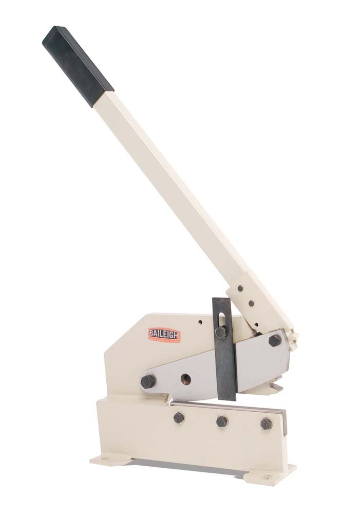 Baileigh MPS-8G Bench Mounted Multi-Purpose Manual Sheet Metal Shear, 8'' Blade Length by Baileigh