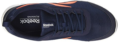 Reebok Sublite Sport, Zapatos para Correr para Hombre Multicolor (Navy/orange/white)