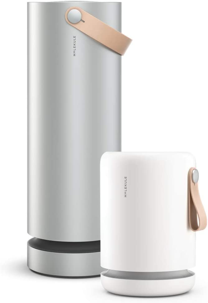 Molekule Air and Air Mini+ - Multi-Space Air Purifier Bundle