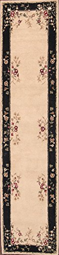 Rug Source New 10 ft Long Hand Made Traditional Aubusson Oriental Area Rug (10' 4