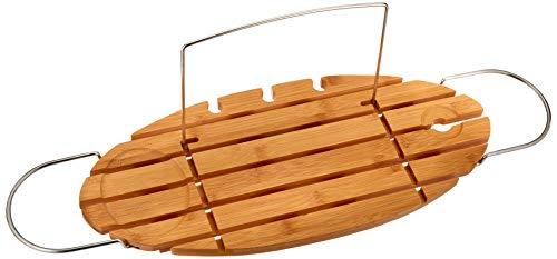 AmazonBasics Standard Bamboo Bathtub