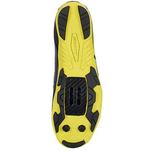 Scott Mtb Rc Bike Shoes Nero / Giallo 2018