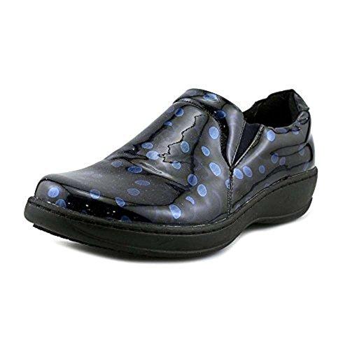 Spring Step Womens Meteora Closed Toe Clogs Blue/Multi OPDSA8f