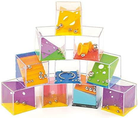6 FARM ANIMALS JIGSAW PUZZLES PARTY BAG FILLERS TOYS FUN  LOOT
