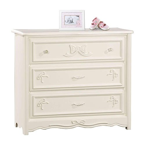 - Disney Princess Enchanted 3-drawer Dresser - White - Nursery Furniture - Wooden Drawer's - Bedroom Furniture's - Elegant and Versatile Piece Engineered - Space Saving - Strong and Sturdy Wood Construction - Non-toxic Finish