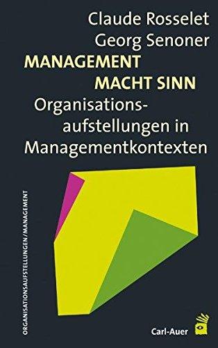 Management Macht Sinn: Organisationsaufstellungen in Managementkontexten