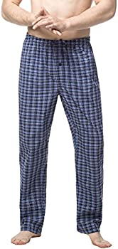 Lapasa Mens 100% Cotton Pajama Pants (Several Colors)