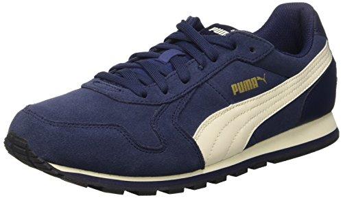 Puma St Runner Sd Chaussure Running Peacoat/White Whisper/Or/Noir-3