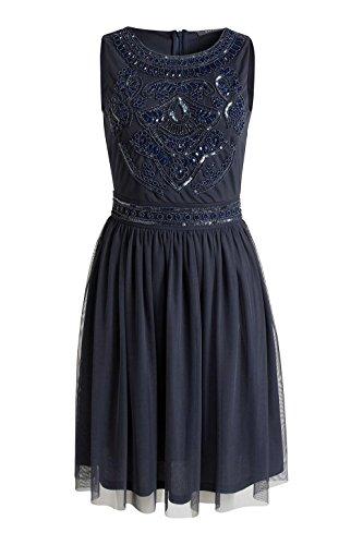 400 ESPRIT Kleid Damen Collection Blau Navy x6aqP