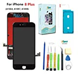 Screen Replacement Compatible iPhone 8 Plus (5.5 inch) -3D...