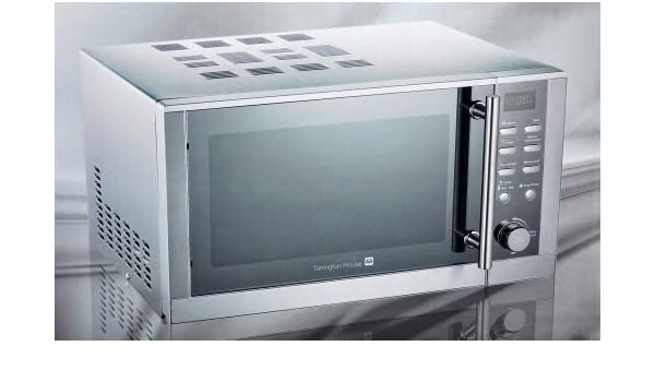 3 in1 Microondas Grill Aire Caliente MWD 2925 GC acero inoxidable ...