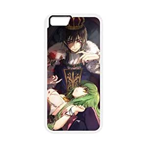 Code Geass iPhone 6 Plus 5.5 Inch Cell Phone Case White WON6189218963995