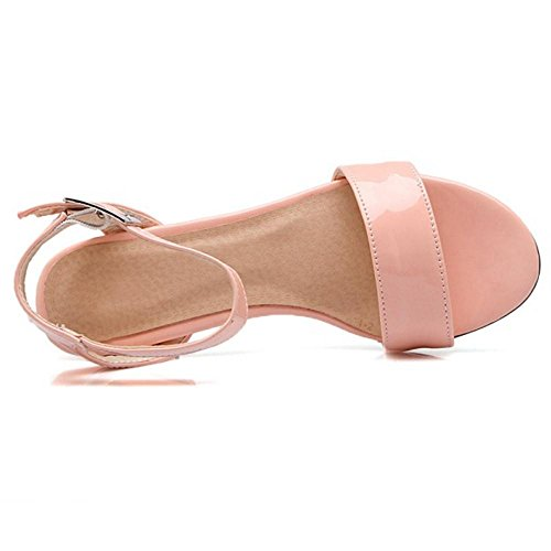 Pink Femmes JOJONUNU Open Back Sandales 1pyHvq