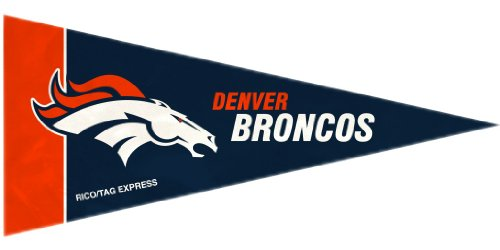 Rico Denver Broncos 8 Piece Mini Pennant Set ()