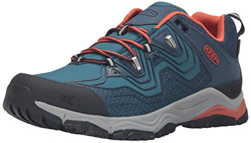 Keen Aphlex WP - Zapatillas de trekking Hombre - azul 2016 Dress Blue/Burnt Ochre