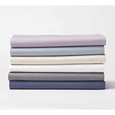 Coyuchi Organic 220 Percale Sheet Set King - Pale Ocean