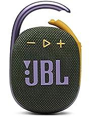 JBL CLIP 4 Ultra-Portable Waterproof Speaker, Green
