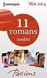 11 romans Passions inédits par Harlequin