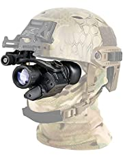 Monoculars,Hunting Night Vision,Infrared Night Vision Monocular Telescope,Telescope PVS-14,Monocular Device,Waterproof Night Vision Goggles,Digital Night Vision Monocular (Color : Black)