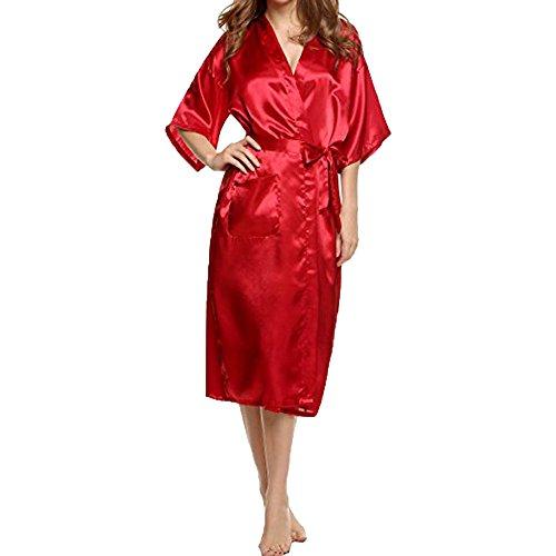 De Lingerie ❤ vêtements Z Sexy Vêtements Femmes Morchan Corps Babydoll Costume Sous Kimono Bain En Robe Dentelle S'habiller rouge Nuit Soie Soutien Du Ceinture gorge OqzUgdxU