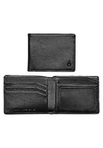 NIXON Cape Leather Wallet-Black ()
