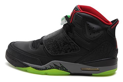 091207230734 - Jordan Gradeschool Son Of Black/Cool Grey/Green Pulse/Gym Red 512245-006 14 carousel main 0
