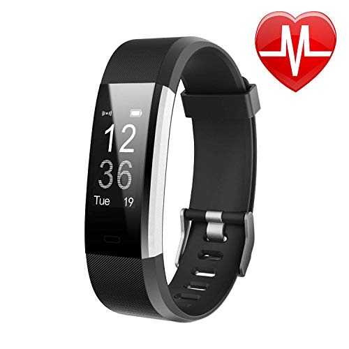 Letsfit Fitness Tracker HR, Heart Rate Monitor Activity Tracker, Pedometer Watch, Step Counter, Step Tracker and Sleep Monitor, Bluetooth Sport Watch for Kids Women Men – DiZiSports Store
