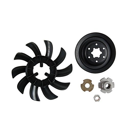 Craftsman HG-72134 Lawn Tractor Transaxle Fan and Pulley Kit Genuine Original Equipment Manufacturer (OEM) part for Craftsman & Mtd