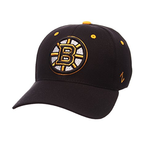 ZHATS NHL Boston Bruins Men's Breakaway Cap, Large, Black