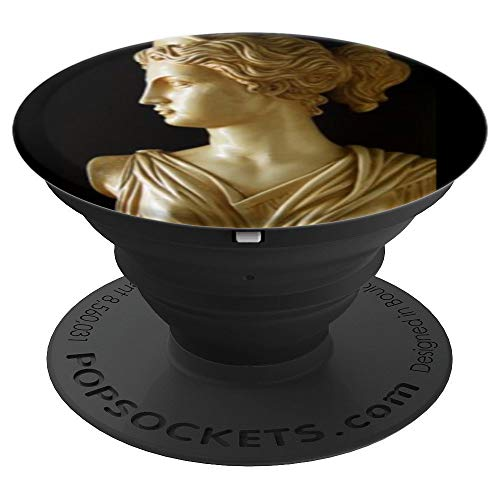 Greek Goddess God Venus Face - PopSockets Grip and Stand for Phones and Tablets ()